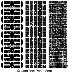 different tire patterns
