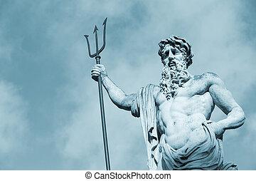 estátua, Neptun