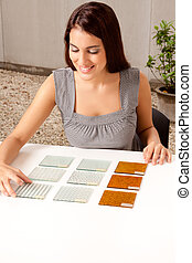 Choosing Tile Sample