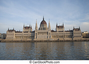 Budapest, parlament - Hungarian parliament building