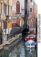 Scene from Venice in Italy