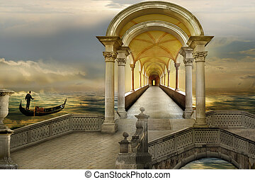 Surreal course - Gondolier`s magic course