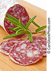 salami long keyword - airdried french salami