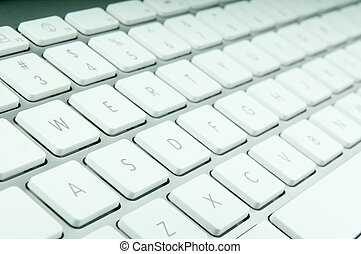 Modern keyboard - Modern computer keyboard with qwerty...