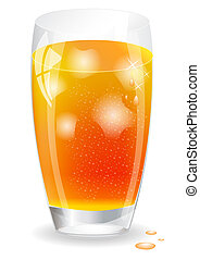 IceTea - Icon of Ice Tea Vector illustration EPS10 Editing...