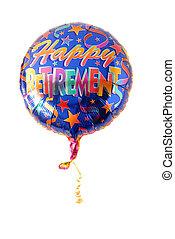 """a, festlicher, Helium, balloon, """"Happy,..."""