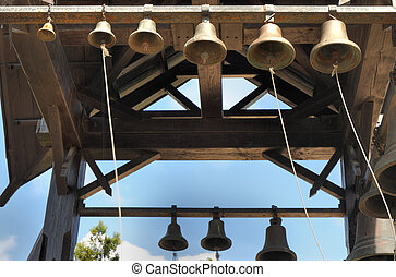 Set of ancient bells