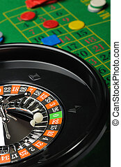Roulette Gambling in game establishments of a casino
