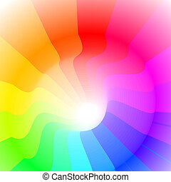 colorful 3ds lines, vector background with copy-space