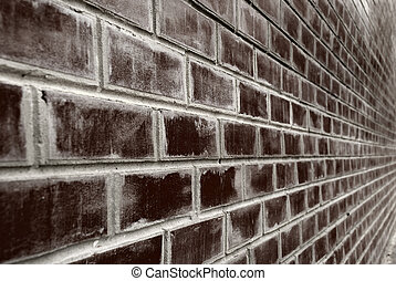 grunge background - brick background. A brick wall, a photo...