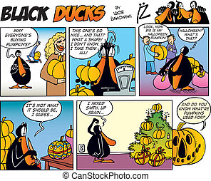 Black Ducks Comics episode 28 - Black Ducks Comic Strip...