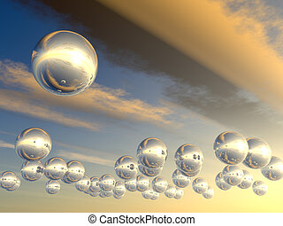 Spheres with reflection