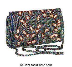 Ladies handbag - Ladies handbag Instructed by multi-coloured...