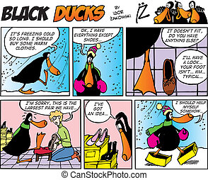 Black Ducks Comics episode 33 - Black Ducks Comic Strip...