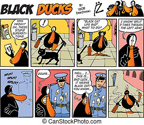 Black Ducks Comics episode 38 - Black Ducks Comic Strip...