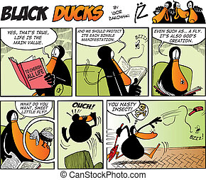 Black Ducks Comics episode 36 - Black Ducks Comic Strip...