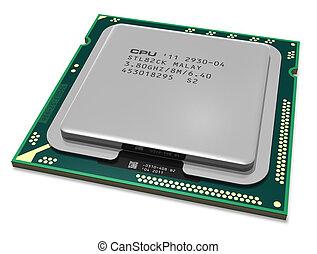 moderno, multicore, CPU