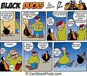 Black Ducks Comics episode 46 - Black Ducks Comic Strip...