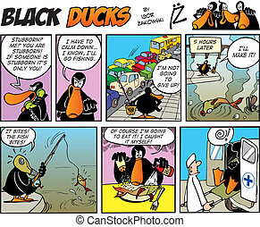 Black Ducks Comics episode 48 - Black Ducks Comic Strip...