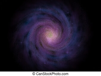 galaxy - Galaxy fantastic kind of a nonexistent galaxy
