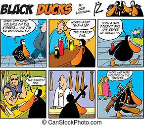 Black Ducks Comics episode 43 - Black Ducks Comic Strip...