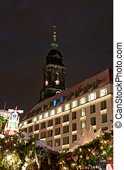 Christmas Market in Dresden - Christmas market in Dresden...