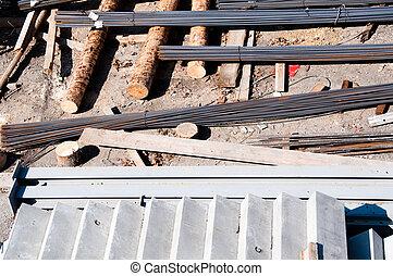 construcción, Materiales