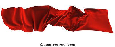 A silk scarf