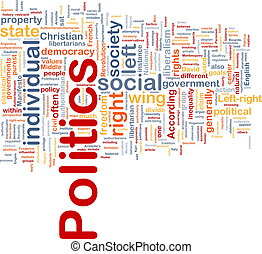 Politics social background concept - Background concept...