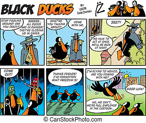 Black Ducks Comics episode 60 - Black Ducks Comic Strip...