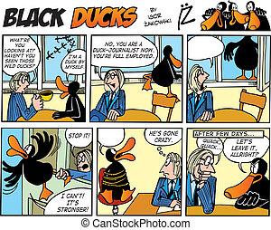 Black Ducks Comics episode 55 - Black Ducks Comic Strip...