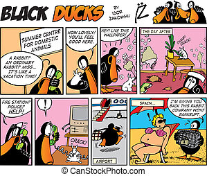Black Ducks Comics episode 52 - Black Ducks Comic Strip...