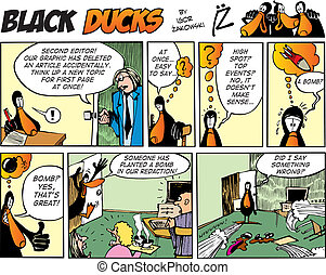 Black Ducks Comics episode 53 - Black Ducks Comic Strip...