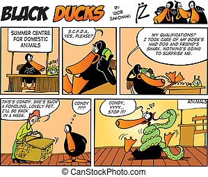 Black Ducks Comics episode 51 - Black Ducks Comic Strip...