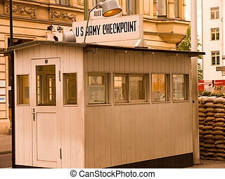 Checkpoint Charly Berlin - Checkpoint Charlie was the name...