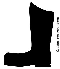 Boot silhouette