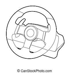 Steering Wheel - steering wheel simulator for pc games on...