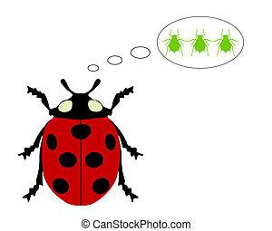 Ladybird diet