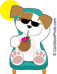 Cute Puppy Holiday