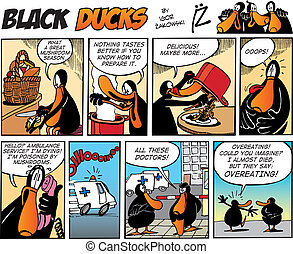 Black Ducks Comics episode 65 - Black Ducks Comic Strip...