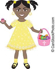 Easter Egg Girl