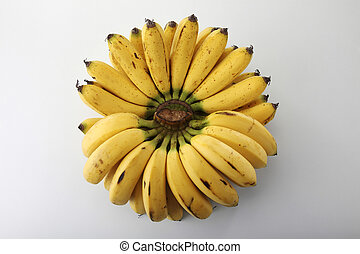 banana - image of banana on the white background