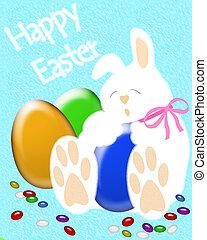 Easter bunny break