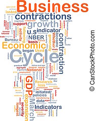 Business cycle background concept - Background concept...