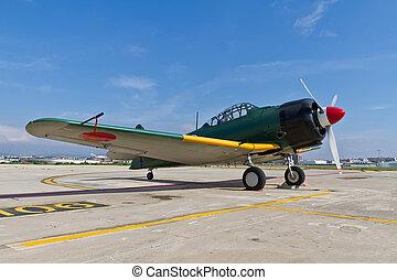 The Mitsubishi A6M Zero WWII - The Mitsubishi A6M Zero was a...