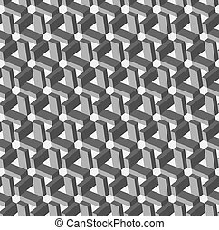 geometric ornament.Seamless pattern