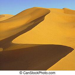 Dunes of Chebbi erg near Merzouga, Sahara desert, Morocco