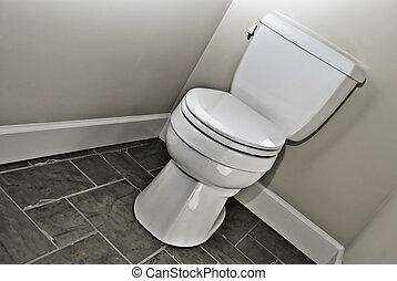 nowoczesny, toaleta