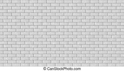 brick wall texture - the wall is intentionally of white...