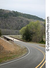 S curve in Backroad - Taking a drive to see the country I...